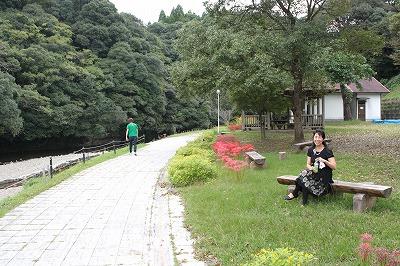 薩摩川内市東郷町の親水公園