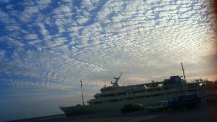 新フェリー 鱗雲