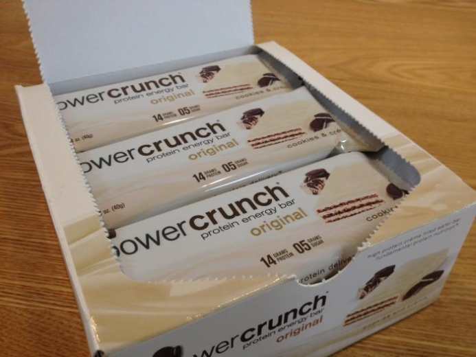 BNRG, Power Crunch Protein Energy Bar, Cookies and Crème, 12 Bars, 1.4 oz (40 g) Each $16.56_1
