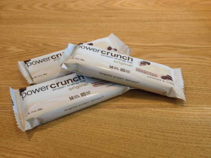 BNRG, Power Crunch Protein Energy Bar, Cookies and Crème, 12 Bars, 1.4 oz (40 g) Each $16.56_2