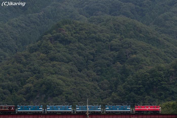 秩父鉄道 5重連