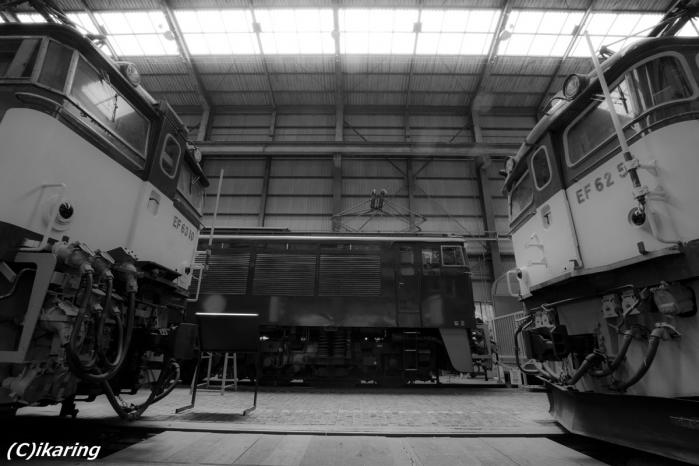 碓氷峠鉄道文化むら EF62 EF63