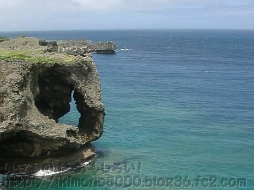 沖縄の海(万座毛)