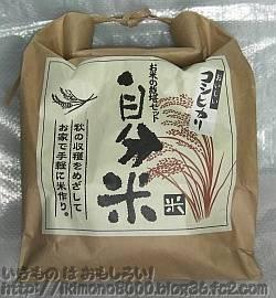 2012年の稲は自分米