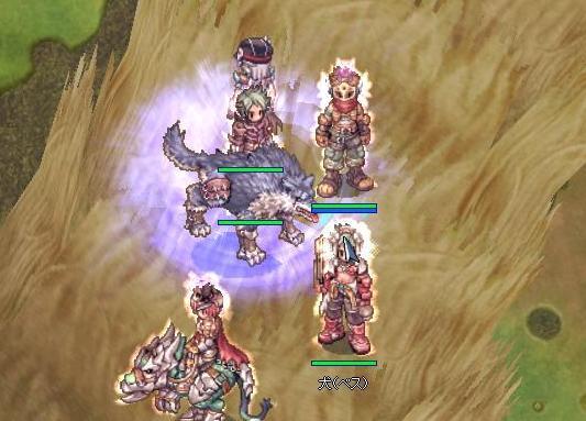 0215紫竜クエ狼