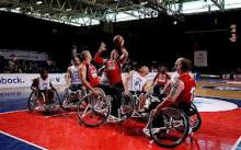 images paralimpic basket