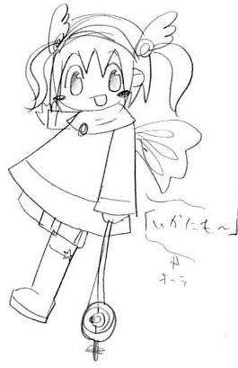 【オリジナル】 魔法少女 05.04.23