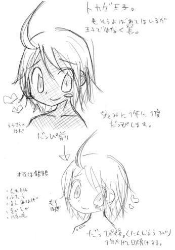 【オリジナル】 トカゲ王子 04.12.15
