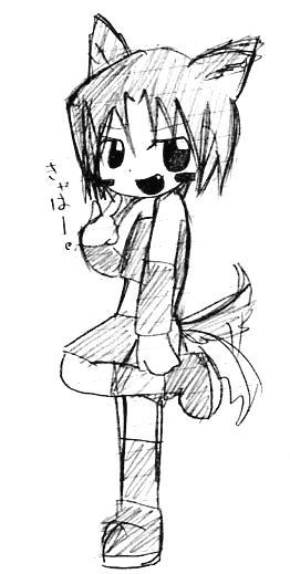 【童話+オリジナル】 オオカミ 2005年