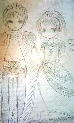【オリジナル】 王子と姫 08.10.03
