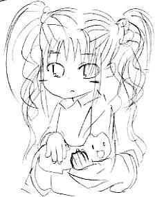 【オリジナル】 幼女と猫? 2008年