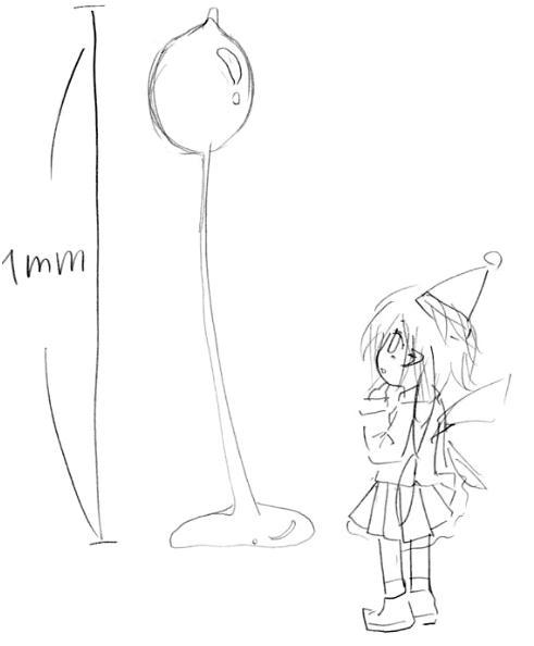 【オリジナル】 キイロタマホコリカビの妖精 2008年
