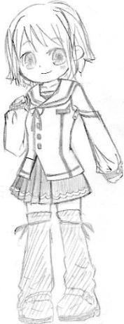 【オリジナル】 制服少女 2007年