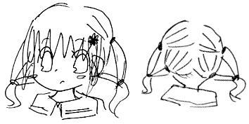 【オリジナル】 髪型遊び 2008年
