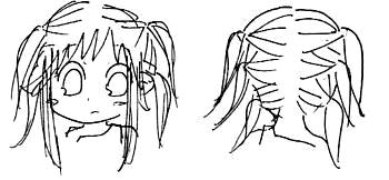 【オリジナル】 髪型遊び 2008年 4