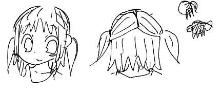 【オリジナル】 髪型遊び 2008年 3