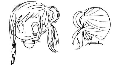 【オリジナル】 髪型遊び 2008年 6