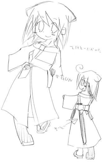 【オリジナル】 狐少年 2006年