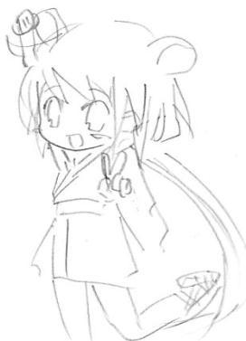 【干支+オリジナル】 ね子 2008年1月 05