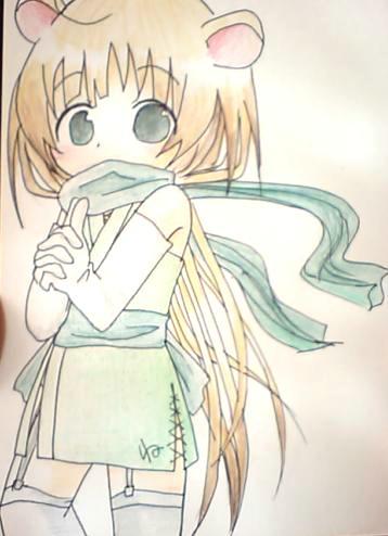 【干支+オリジナル】 ね子 2008年1月 06