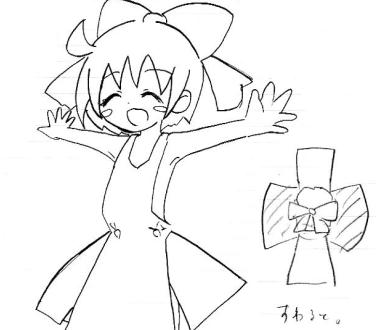 【オリジナル】 リボンっ子 09.08.26