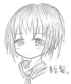 【オリジナル】 短髪少女 09.07.29