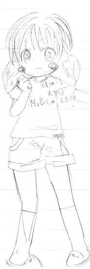 【オリジナル】 モブ子 2009年3月