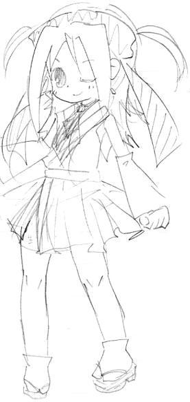 【オリジナル】 ミニ巫女 2009年3月