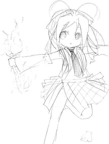 【オリジナル】 ミニ巫女 2009年3月 3