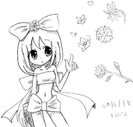 【オリジナル】 リボン娘 09.06.18