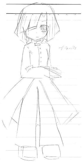 【オリジナル ギャルゲ?】 黒 09.06.23