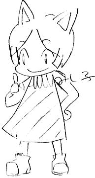 【どうぶつの森】 みしらぬネコ 2009年
