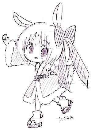 【オリジナル】 卯ーたん 11_04_16 2
