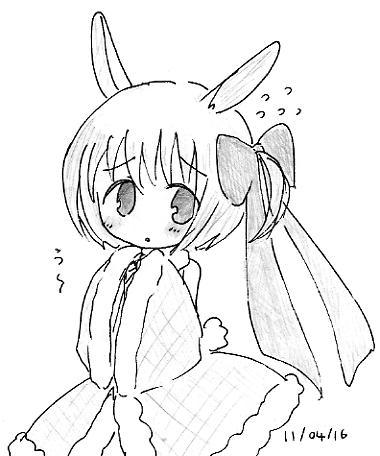 【オリジナル】 卯ーたん 11_04_16