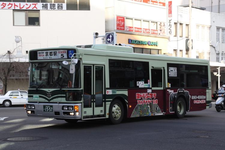京都市交通局 四条通社会実験5系統