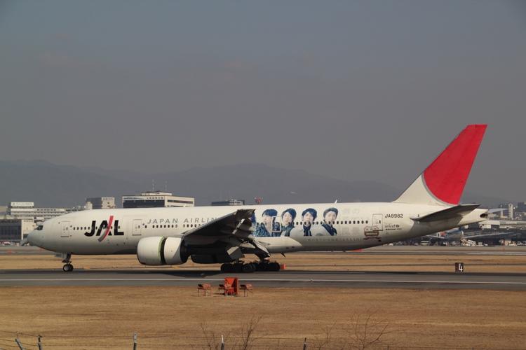 JAL嵐ジェット JA8982 B777-200