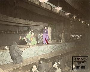 歌舞伎、安珍清姫の一場