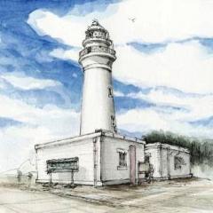 潮岬灯台です