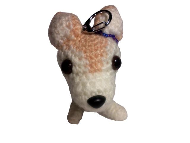 愛犬に似せてキーホルダーM004-1