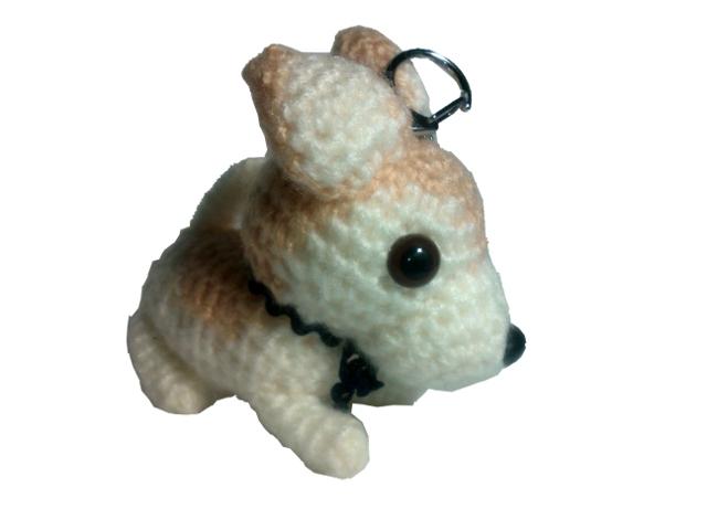 愛犬に似せてキーホルダーM004-2