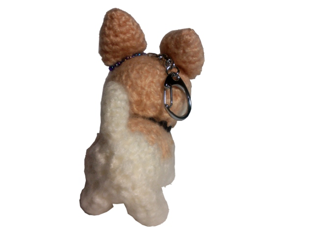 愛犬に似せてキーホルダーM004-3