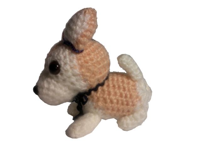 愛犬に似せてキーホルダーM004-4