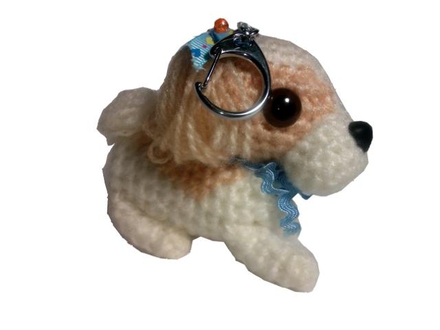 愛犬に似せてキーホルダーM002-2