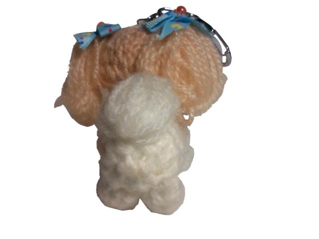 愛犬に似せてキーホルダーM002-3