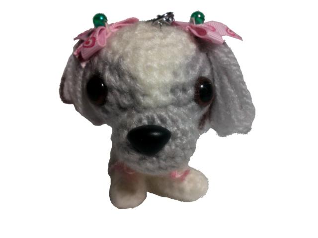 愛犬に似せてキーホルダーM003-1