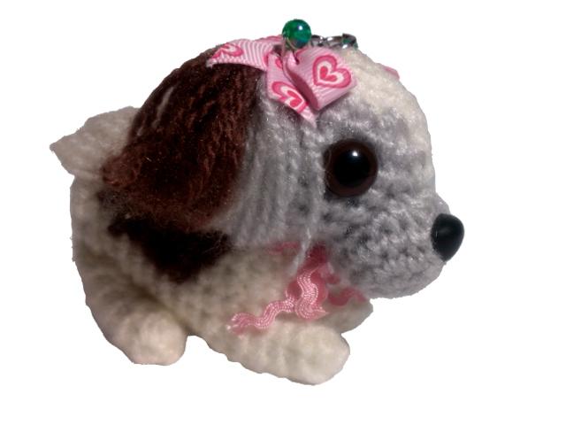 愛犬に似せてキーホルダーM003-2