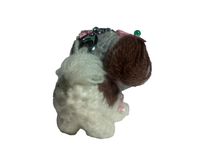 愛犬に似せてキーホルダーM003-3