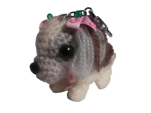 愛犬に似せてキーホルダーM003-4