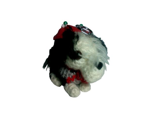 愛犬に似せてキーホルダーM001-2