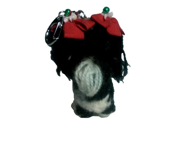 愛犬に似せてキーホルダーM001-3